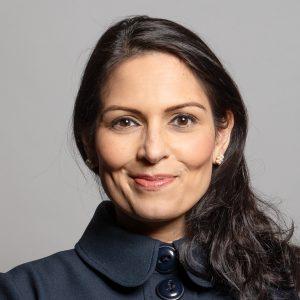 Priti Patel Official Portrait